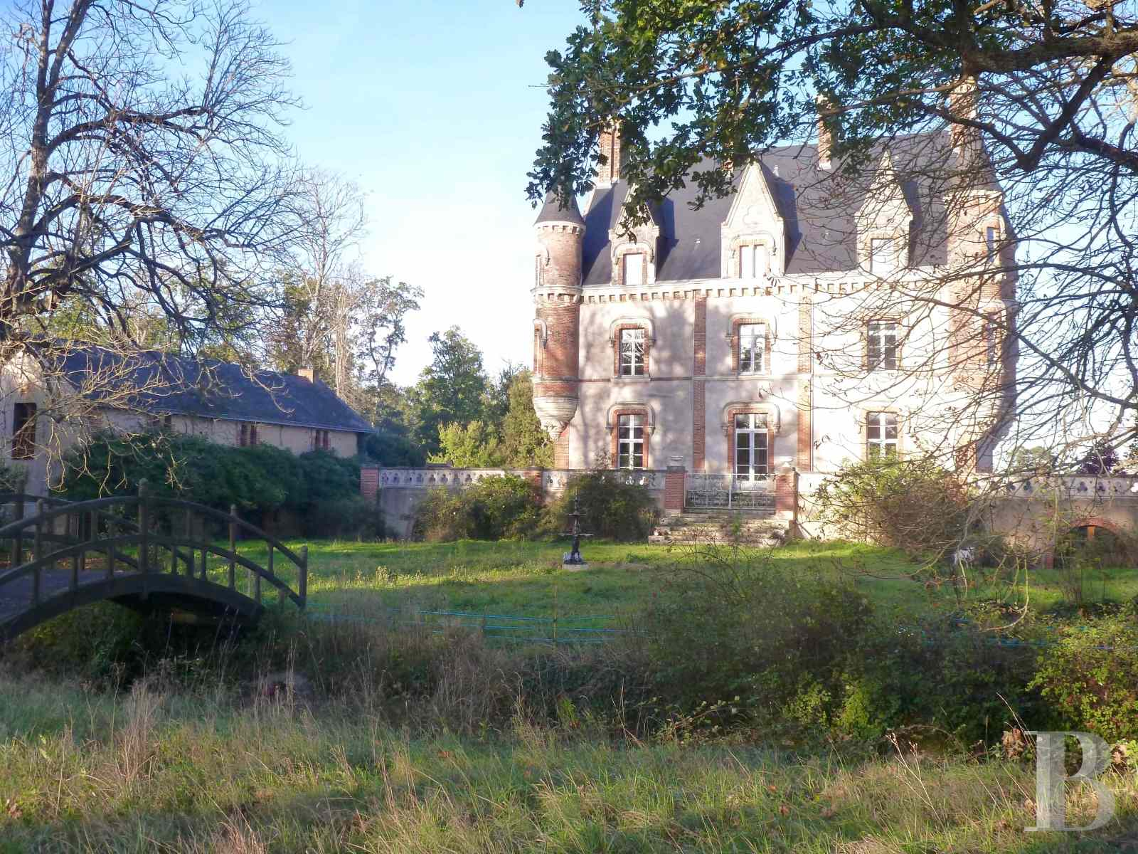 chateaux for sale France pays de loire manor house - 6 zoom