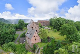 chateaux for sale France alsace fortified castle - 2