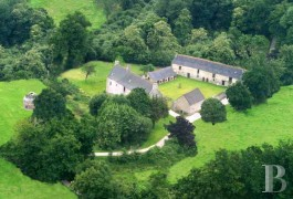 Manors for sale - brittany - Between Dinan and Saint Malo, manor house and its outbuildings dating from the 14th century