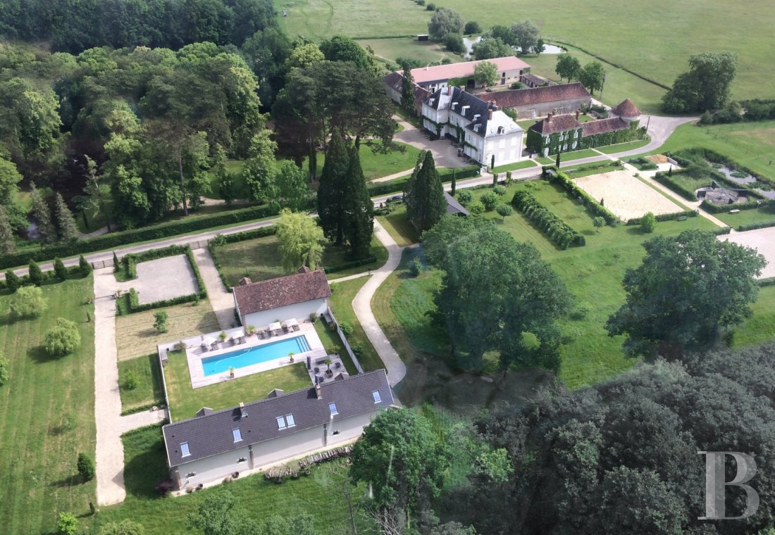 chateaux for sale France burgundy 3782  - 1