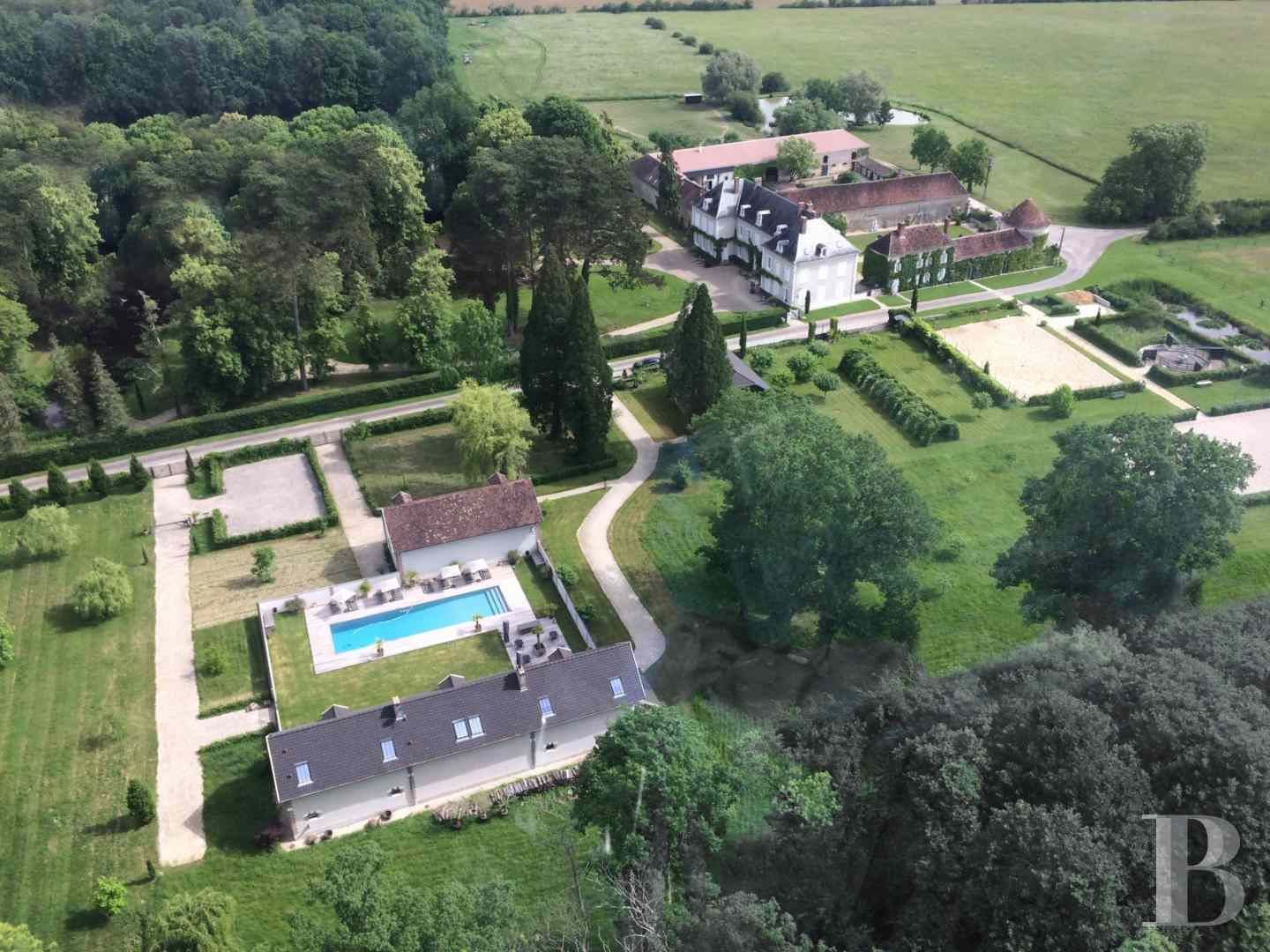 chateaux for sale France burgundy 3782  - 1 zoom