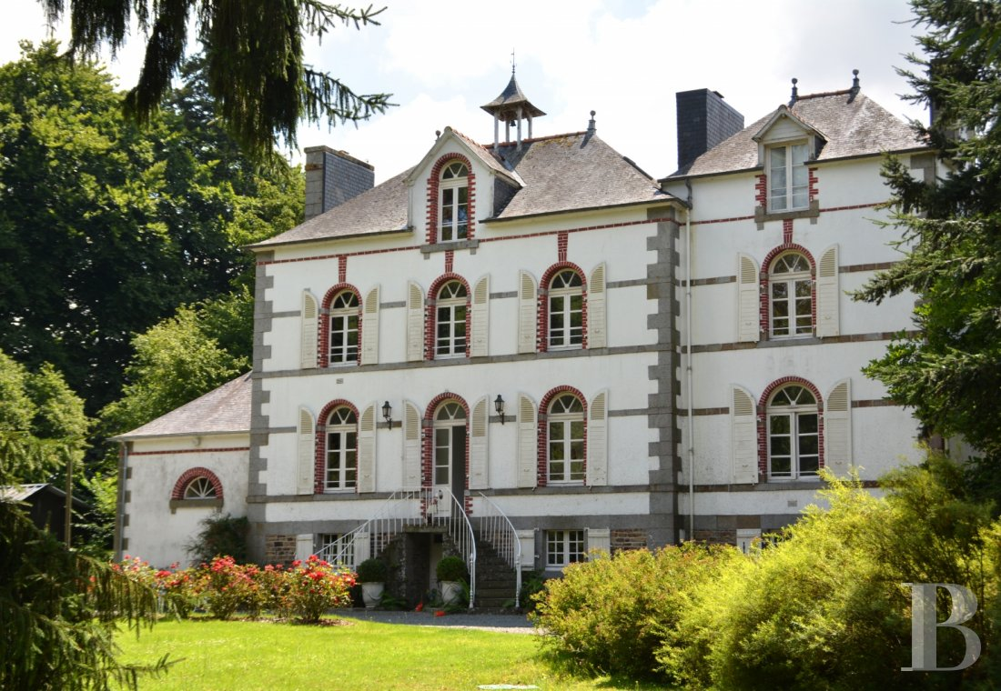 chateaux for sale France brittany 19th century - 1