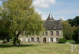 Manors for sale - brittany - Close to Dinan,-15th C. manor house