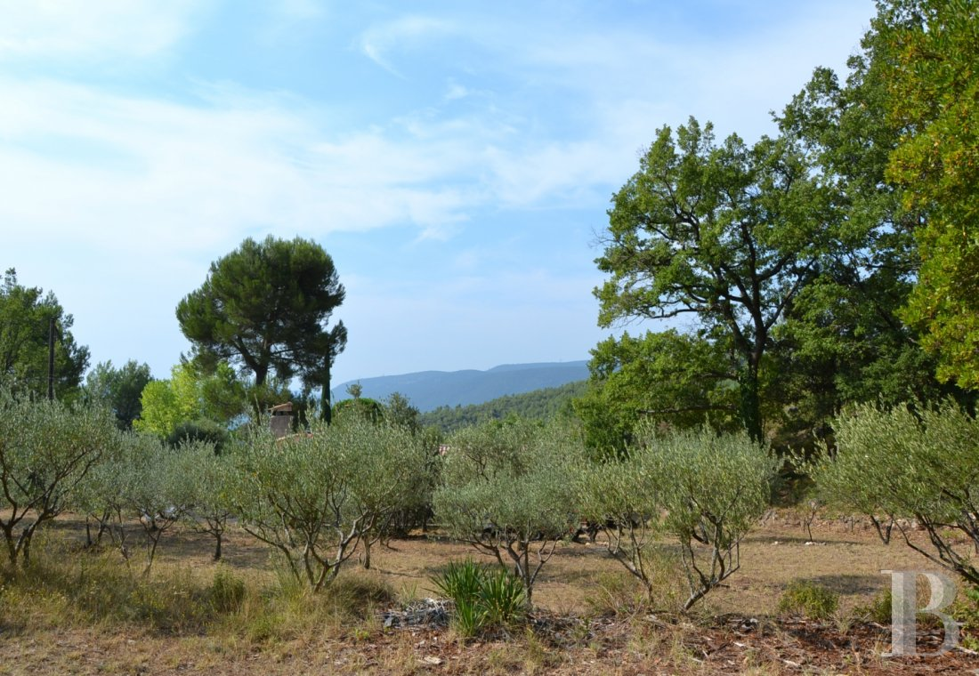 Character houses for sale - provence-cote-dazur - A house in a peaceful setting with a dominant view at the foot of a hill in the centre of the French department of Var
