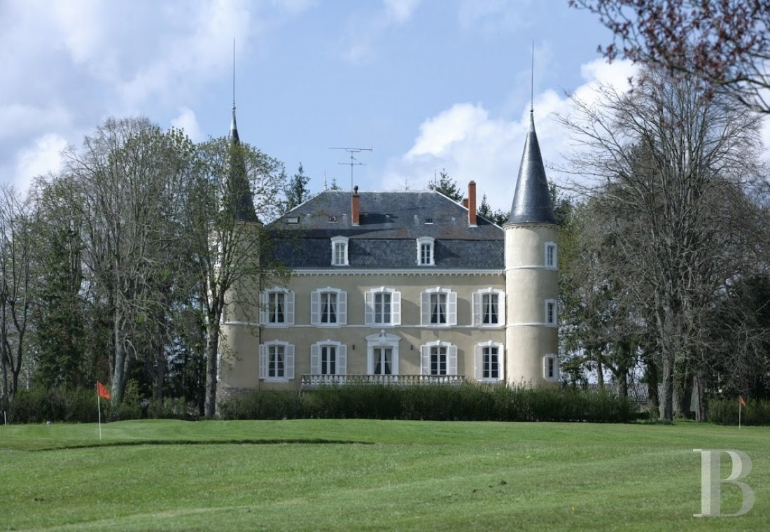 chateaux for sale France burgundy brionnais region - 2