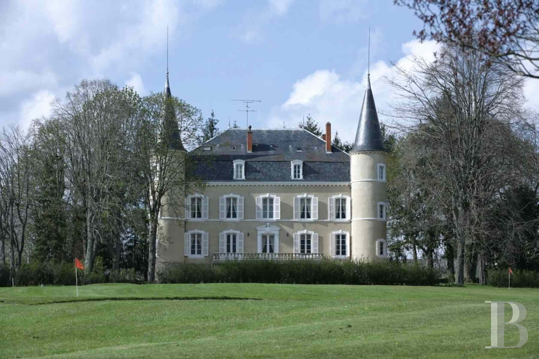 chateaux for sale France burgundy brionnais region - 2 zoom