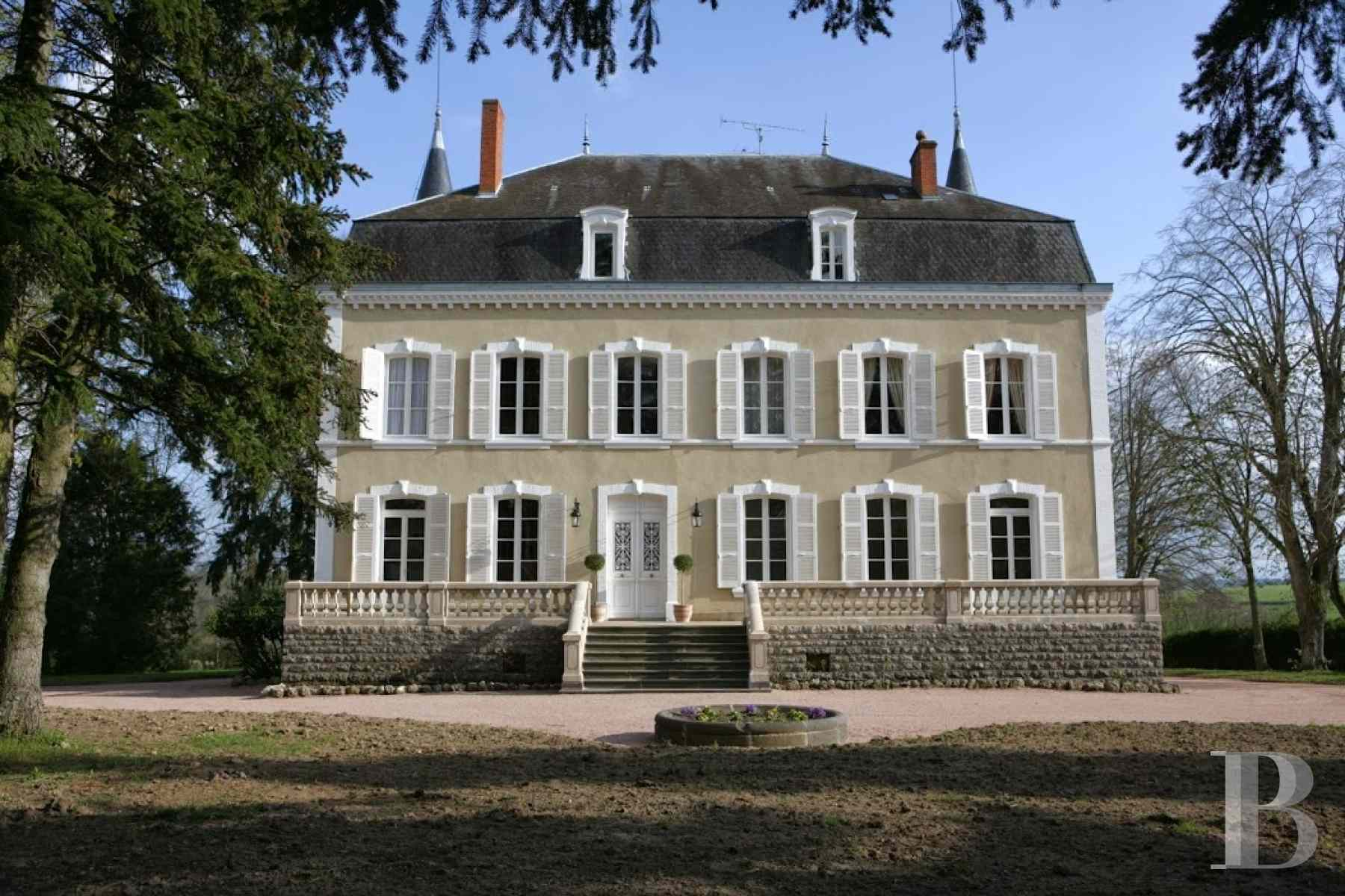 chateaux for sale France burgundy brionnais region - 3 zoom