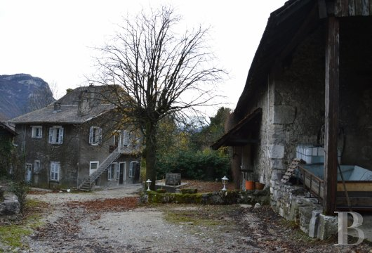 chateaux for sale France rhones alps chambery 18th - 11