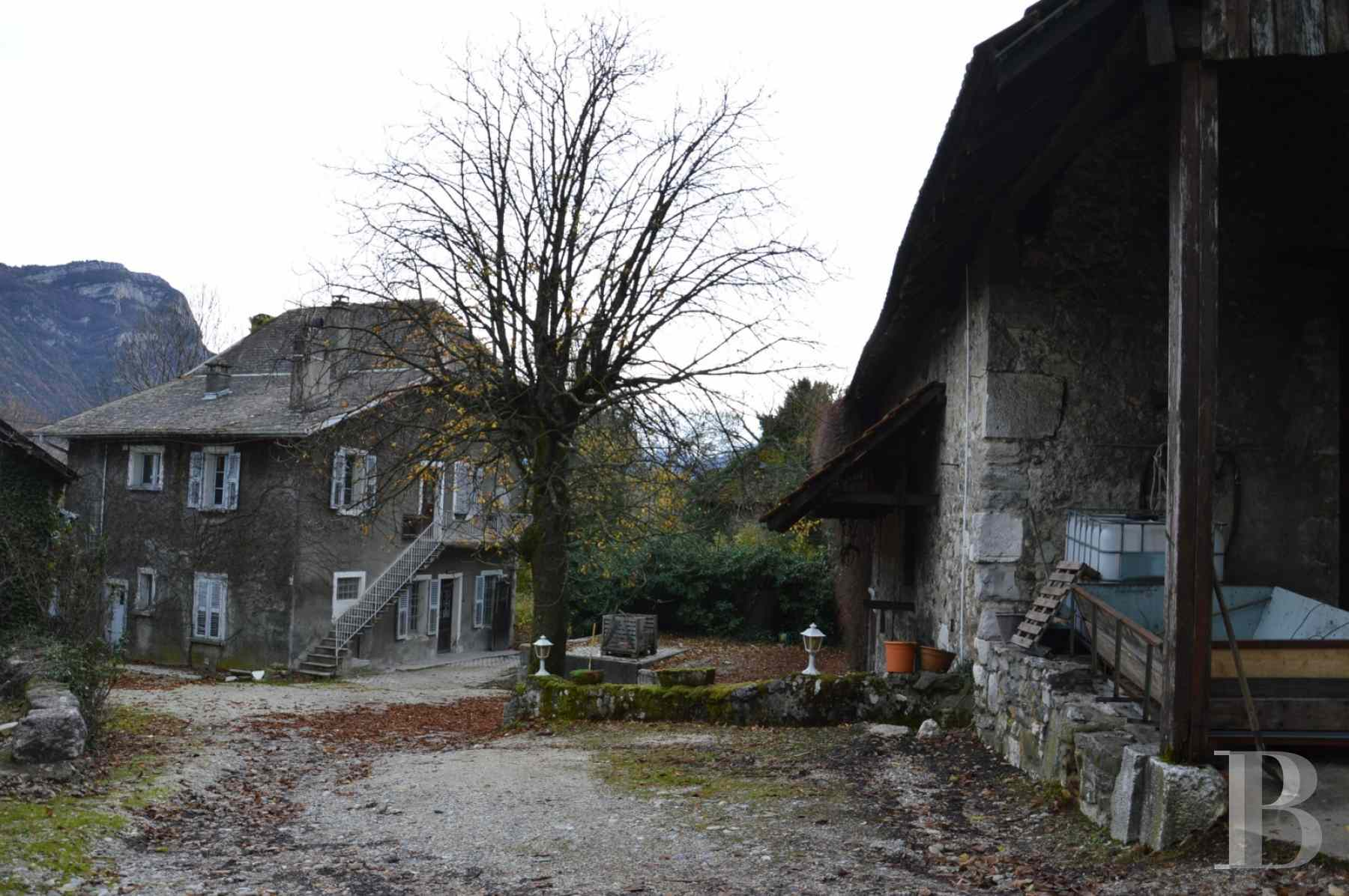 chateaux for sale France rhones alps chambery 18th - 11 zoom