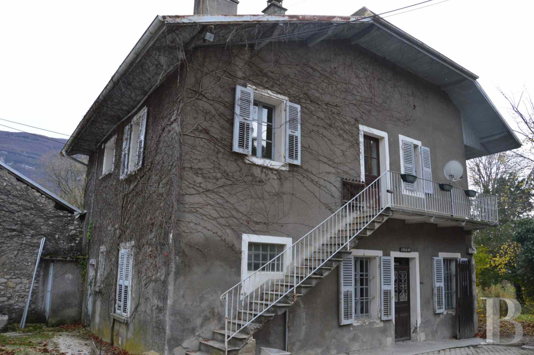 chateaux for sale France rhones alps chambery 18th - 13 zoom