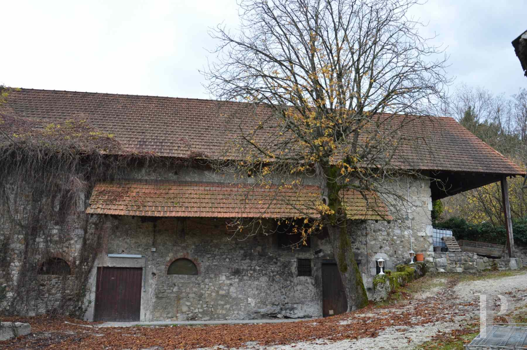 chateaux for sale France rhones alps chambery 18th - 14 zoom