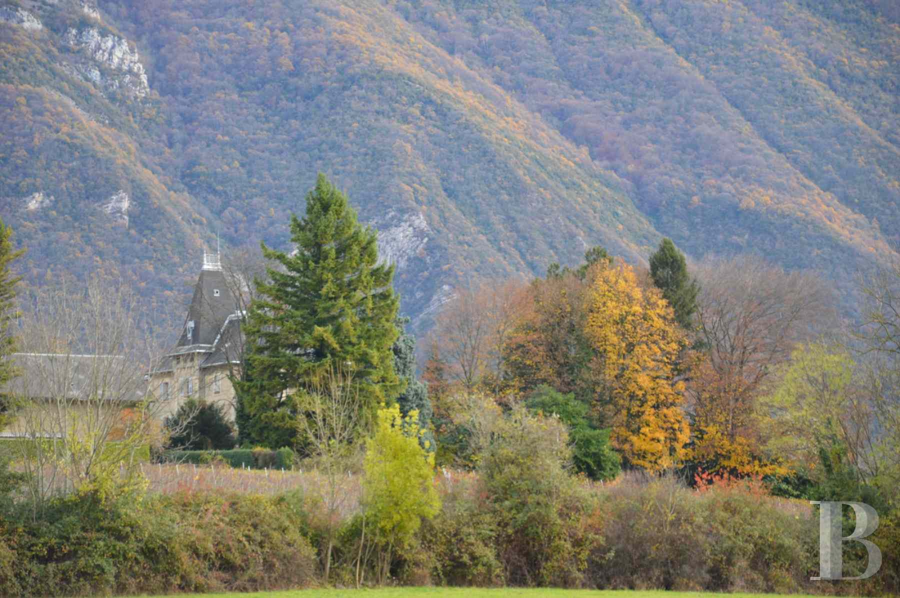 chateaux for sale France rhones alps chambery 18th - 17 zoom