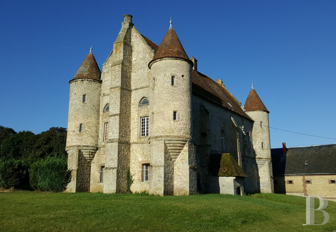 France mansions for sale upper normandy 13th 14th - 1