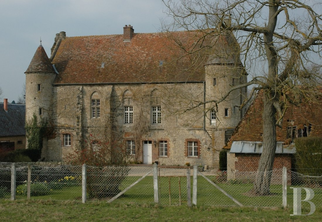 France mansions for sale upper normandy 13th 14th - 2