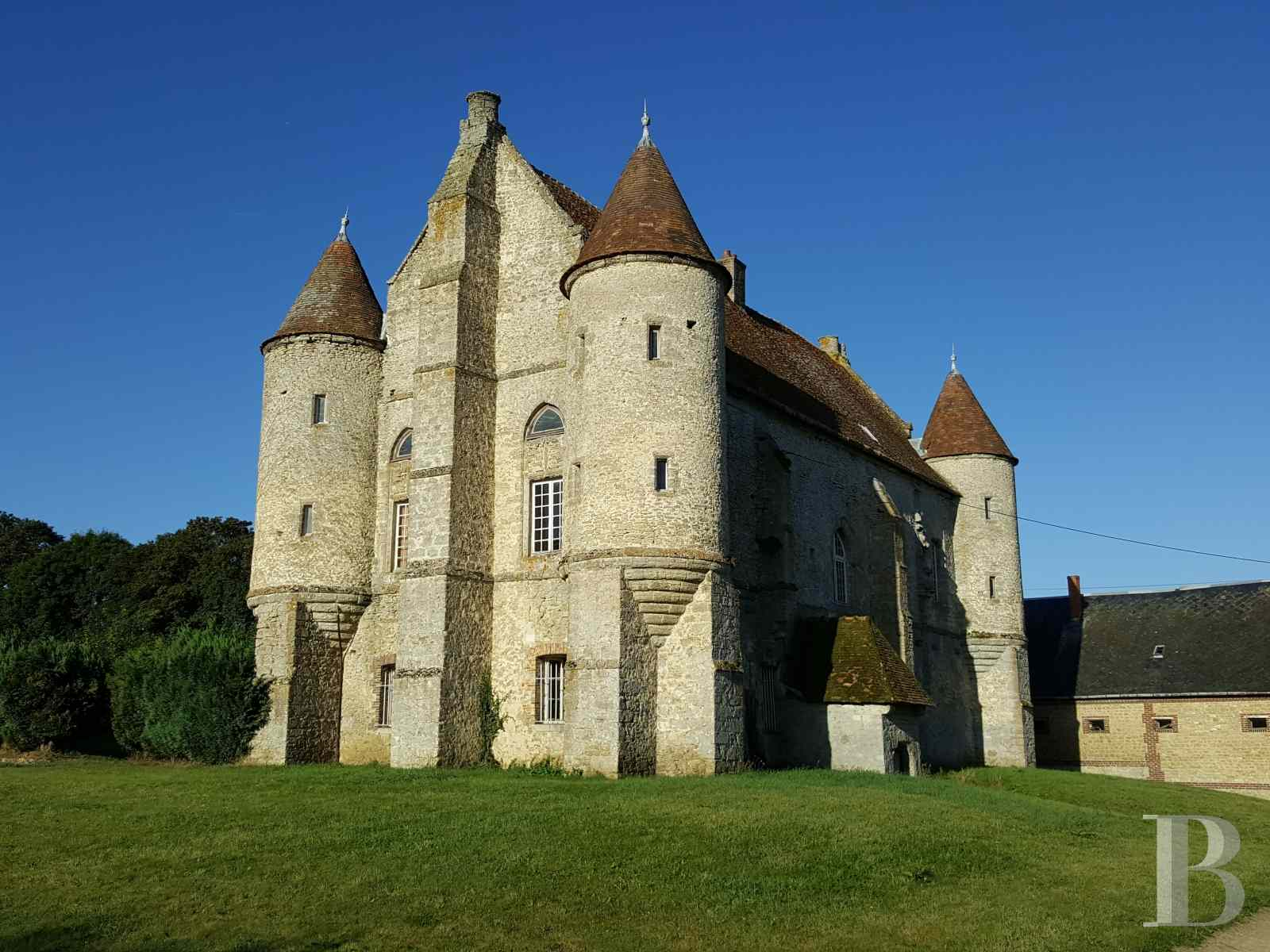 France mansions for sale upper normandy 13th 14th - 1 zoom