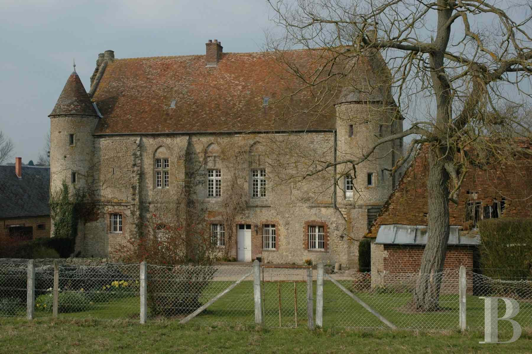 France mansions for sale upper normandy 13th 14th - 2 zoom