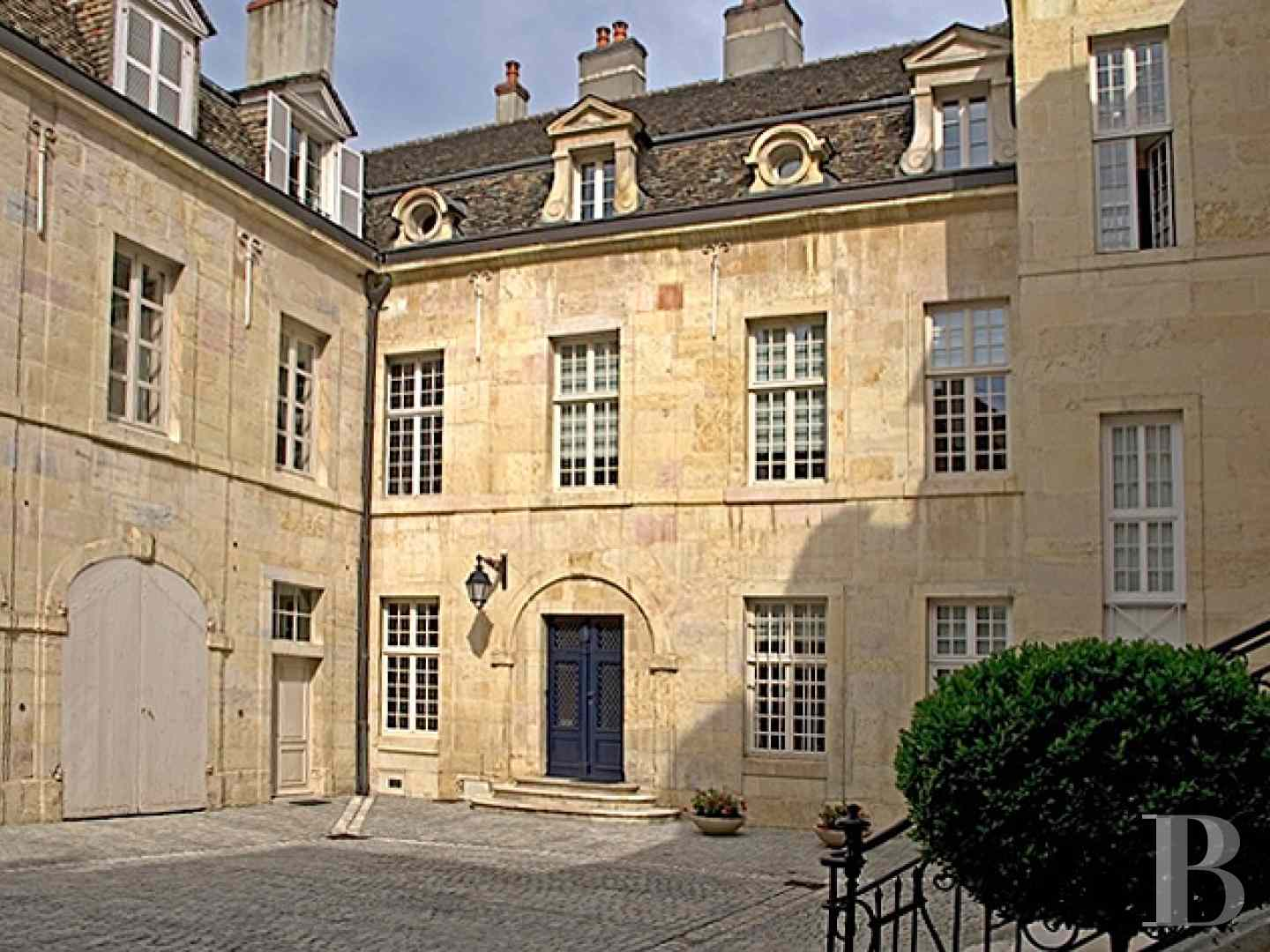 mansion houses for sale France burgundy flat garden - 1 zoom
