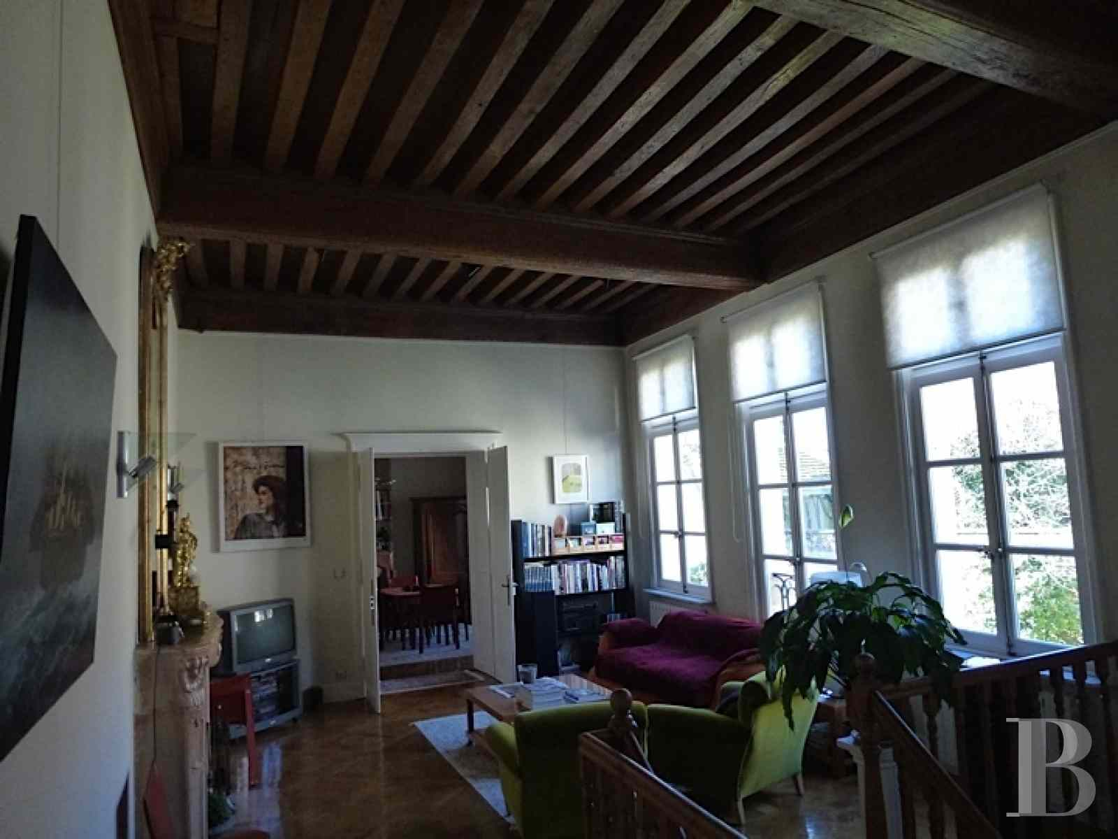 mansion houses for sale France burgundy flat garden - 5 zoom