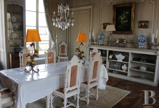 mansion houses for sale France burgundy 18th century - 13