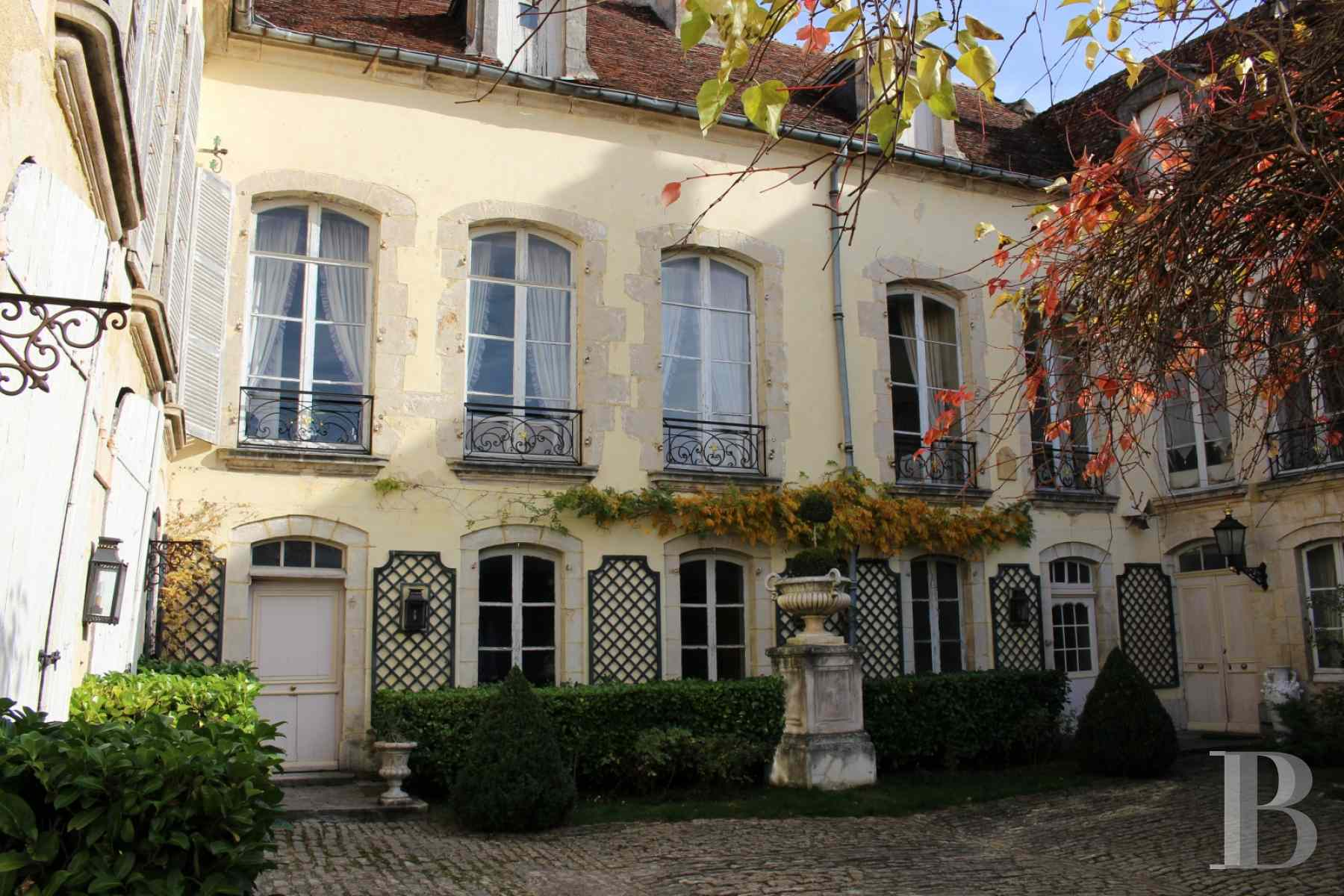 mansion houses for sale France burgundy 18th century - 1 zoom