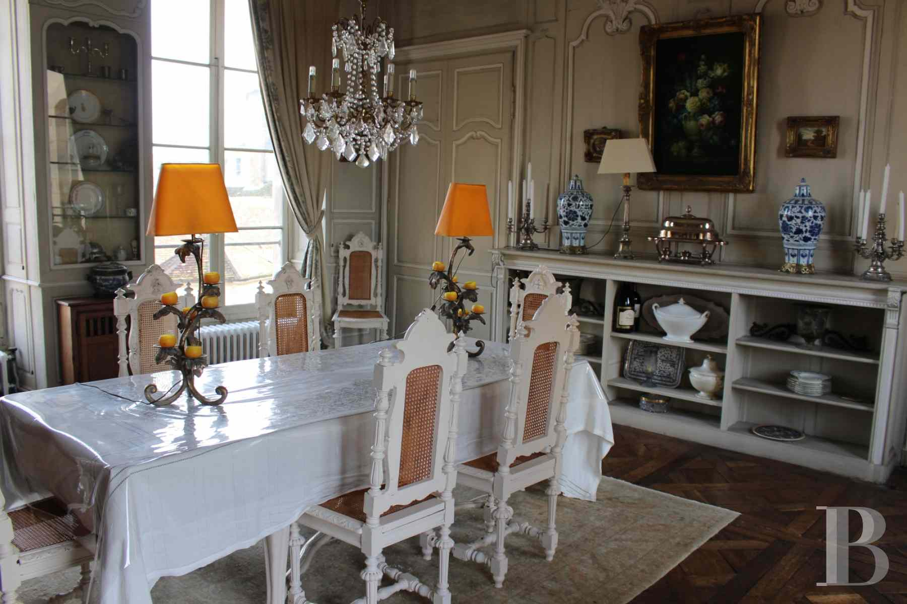 mansion houses for sale France burgundy 18th century - 13 zoom
