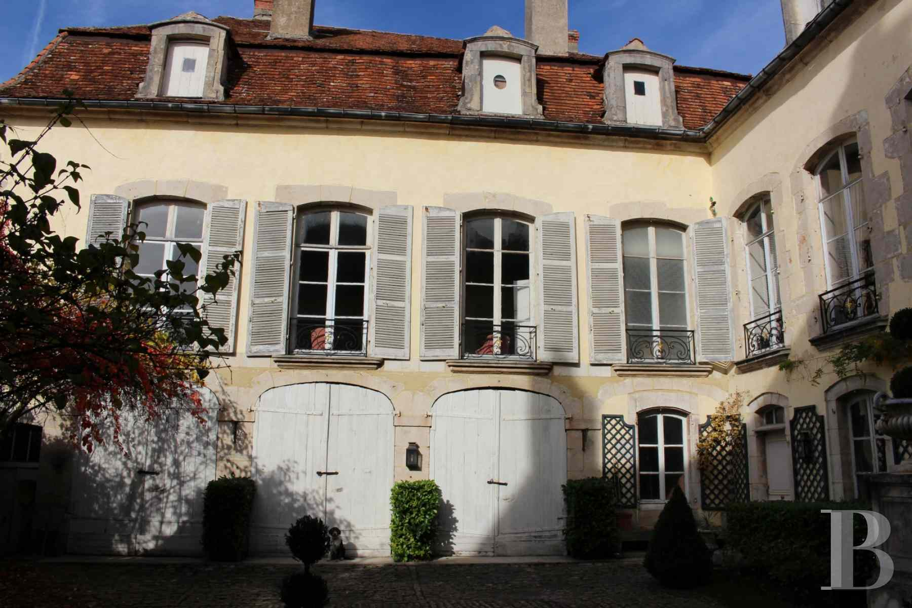 mansion houses for sale France burgundy 18th century - 4 zoom
