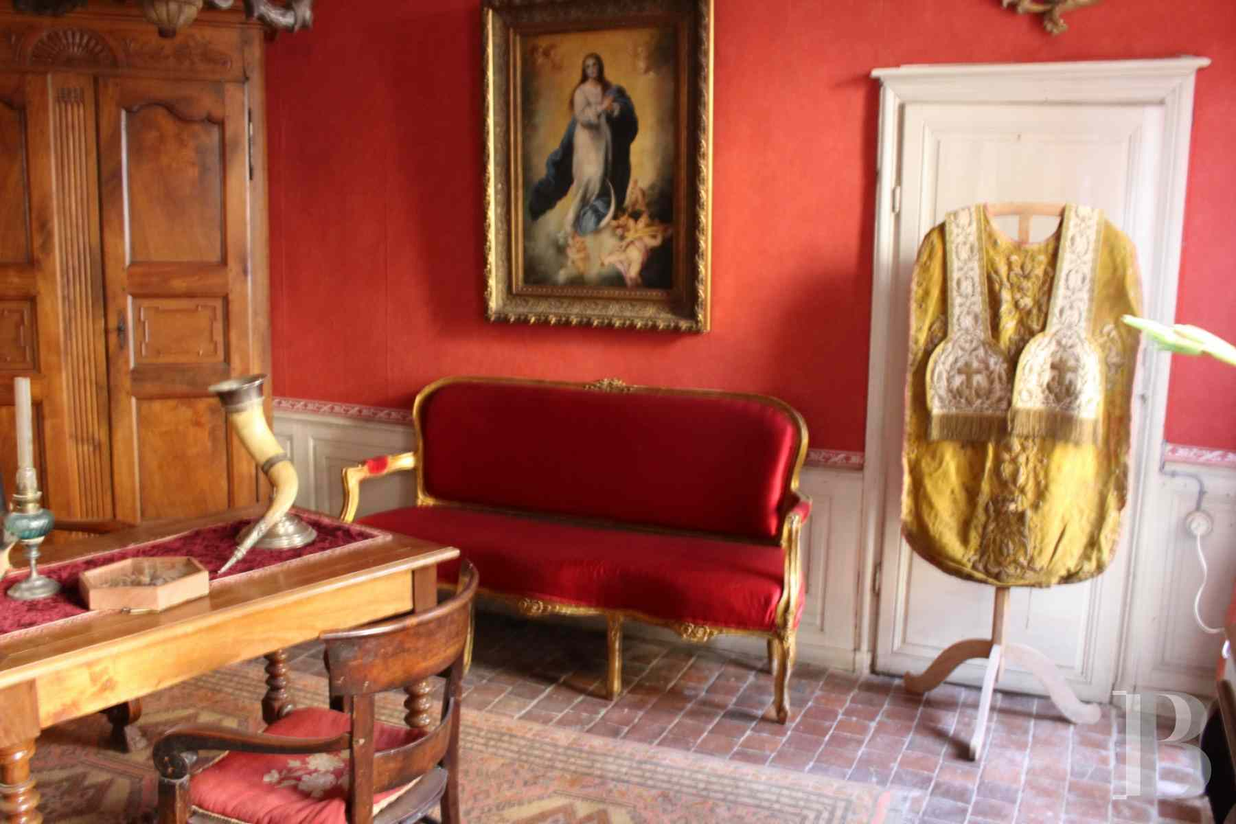 mansion houses for sale France burgundy 18th century - 9 zoom