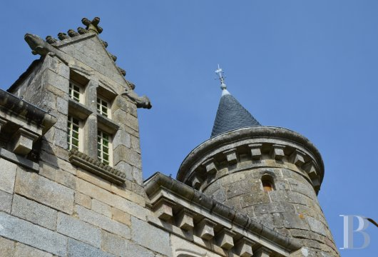 chateaux for sale France brittany manor chapel - 4