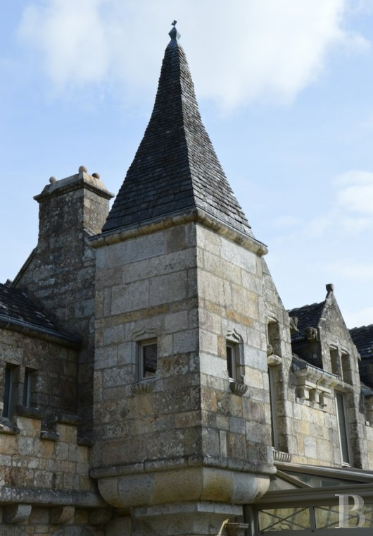 chateaux for sale France brittany manor chapel - 5