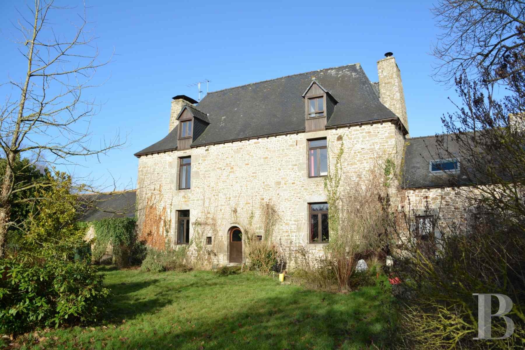 France mansions for sale brittany garden guingamp - 1 zoom
