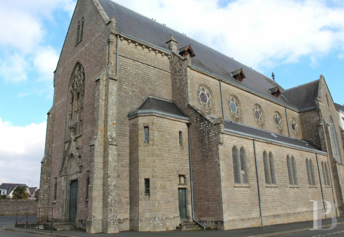 monastery for sale France brittany 3138  - 1