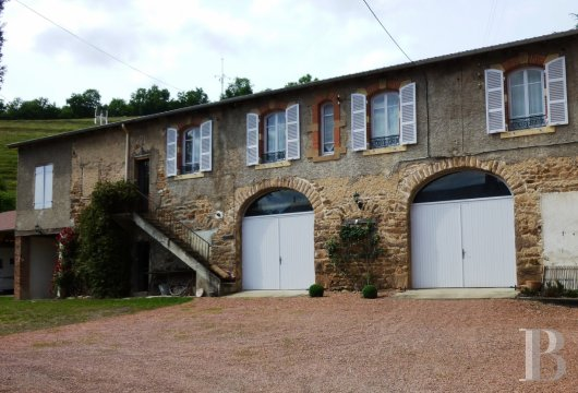 chateaux for sale France rhones alps upper beaujolais - 12