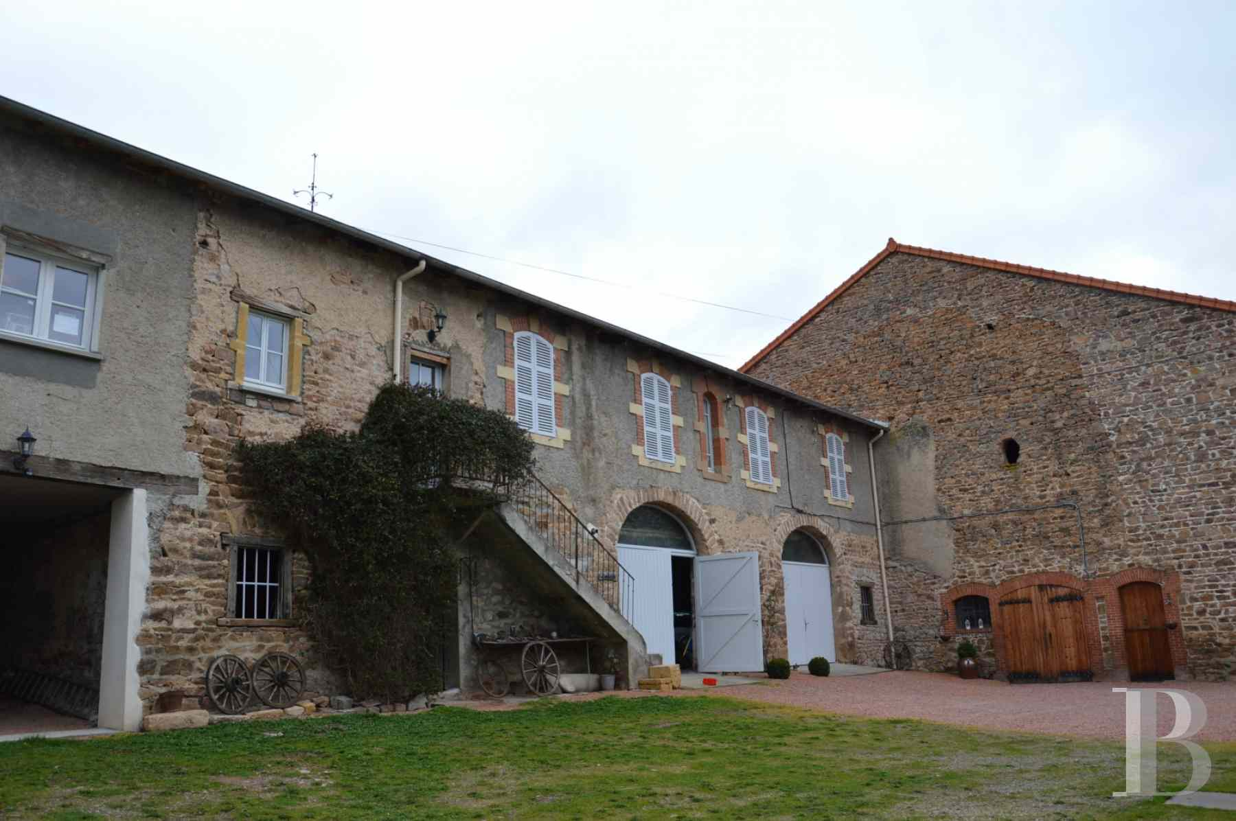 chateaux for sale France rhones alps upper beaujolais - 13 zoom