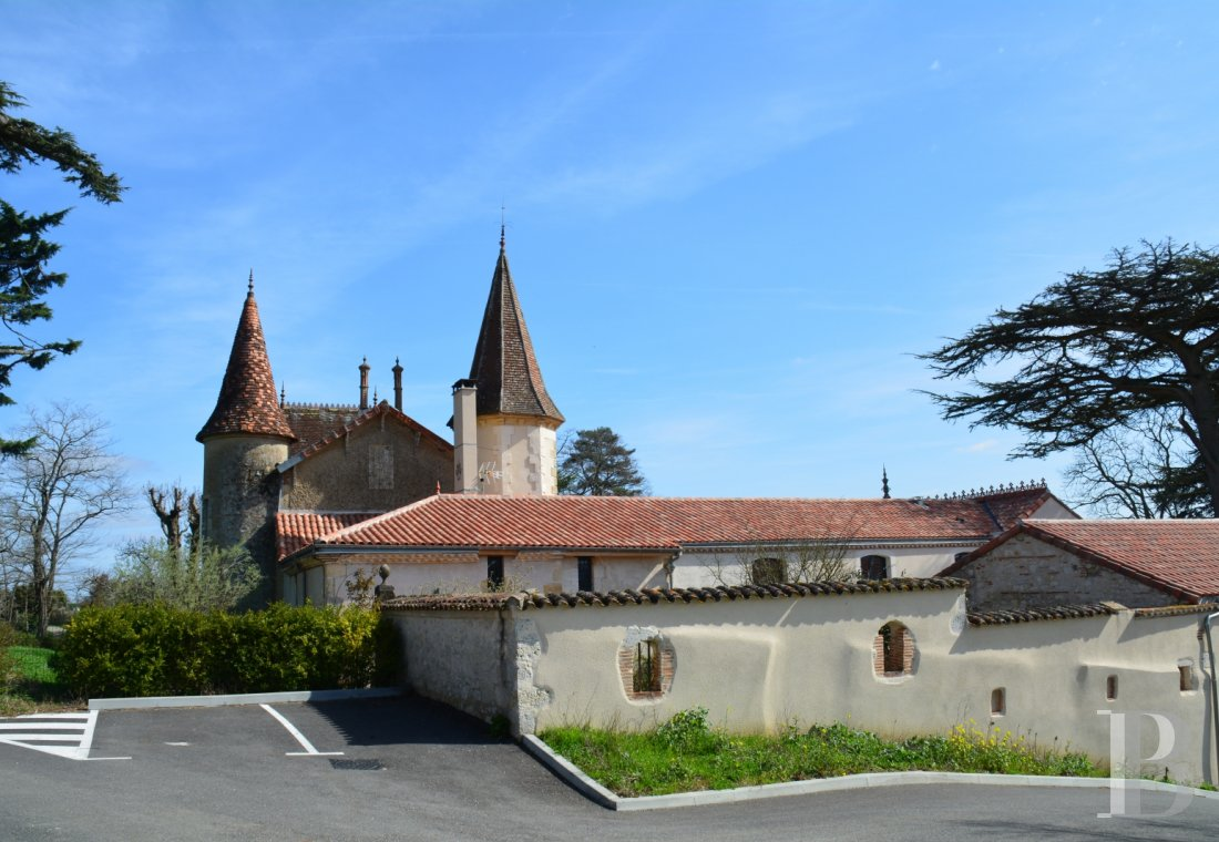 chateaux for sale France aquitaine property gers - 5 mini