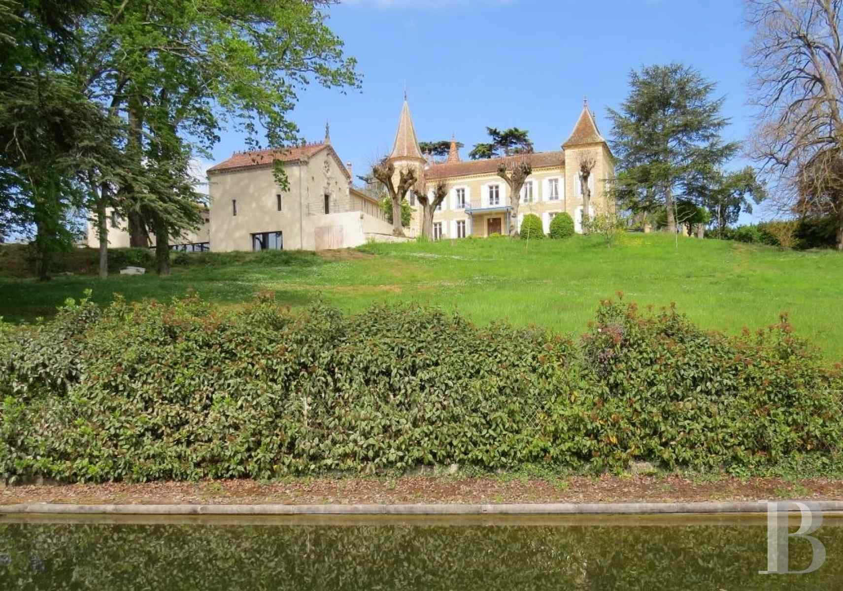 chateaux for sale France aquitaine property gers - 1 zoom