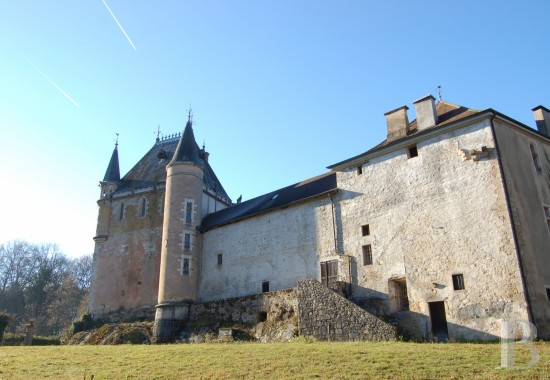 chateaux for sale France rhones alps upper bugey - 1