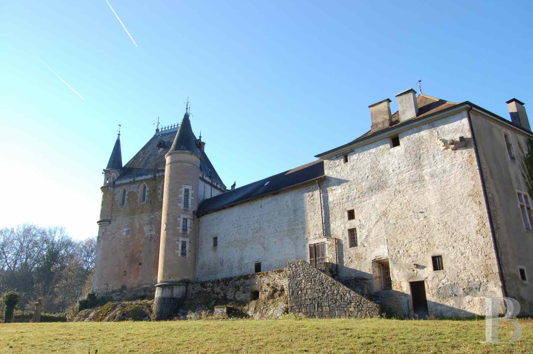chateaux for sale France rhones alps upper bugey - 1 zoom