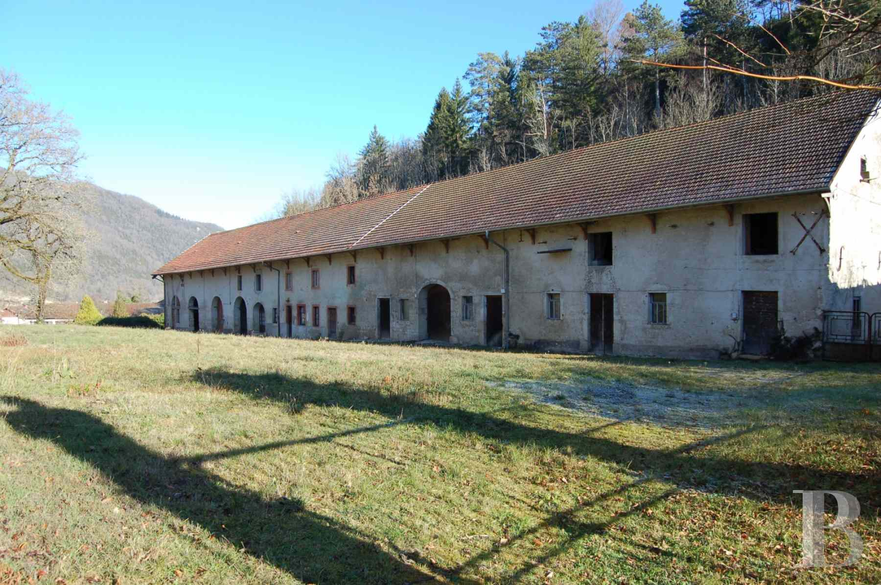 chateaux for sale France rhones alps upper bugey - 11 zoom