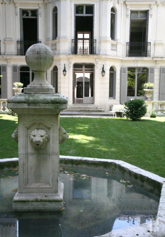 mansion houses for sale paris courtyard garden - 21