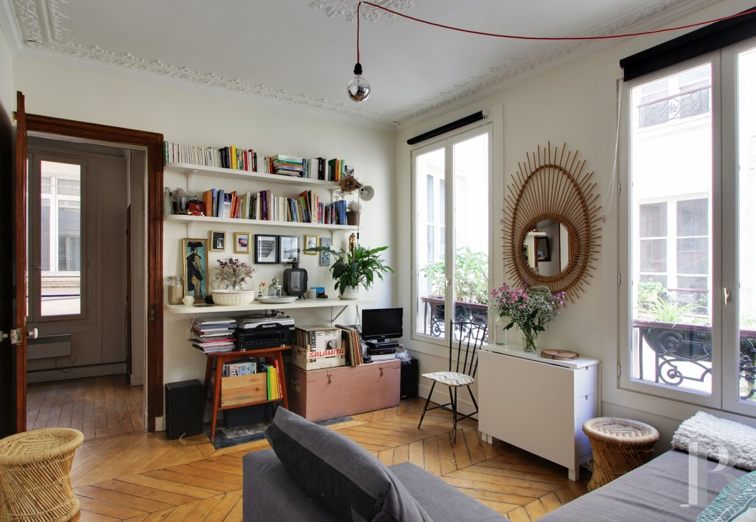 appartments for sale paris 4 roomed - 1