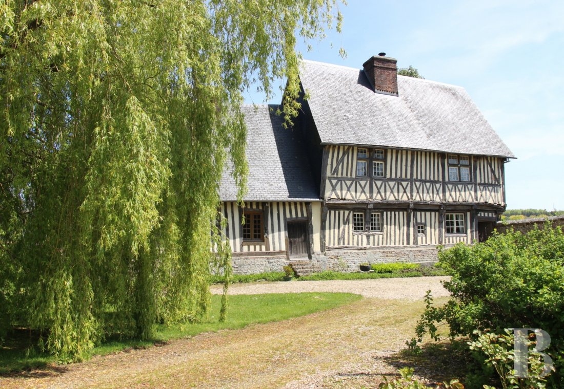 France mansions for sale upper normandy manors for - 1 mini