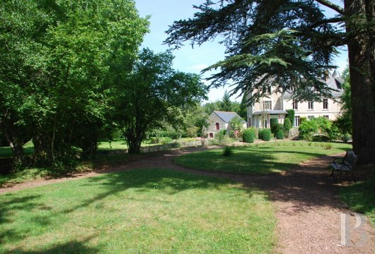 mills for sale France center val de loire parkland swimming - 10