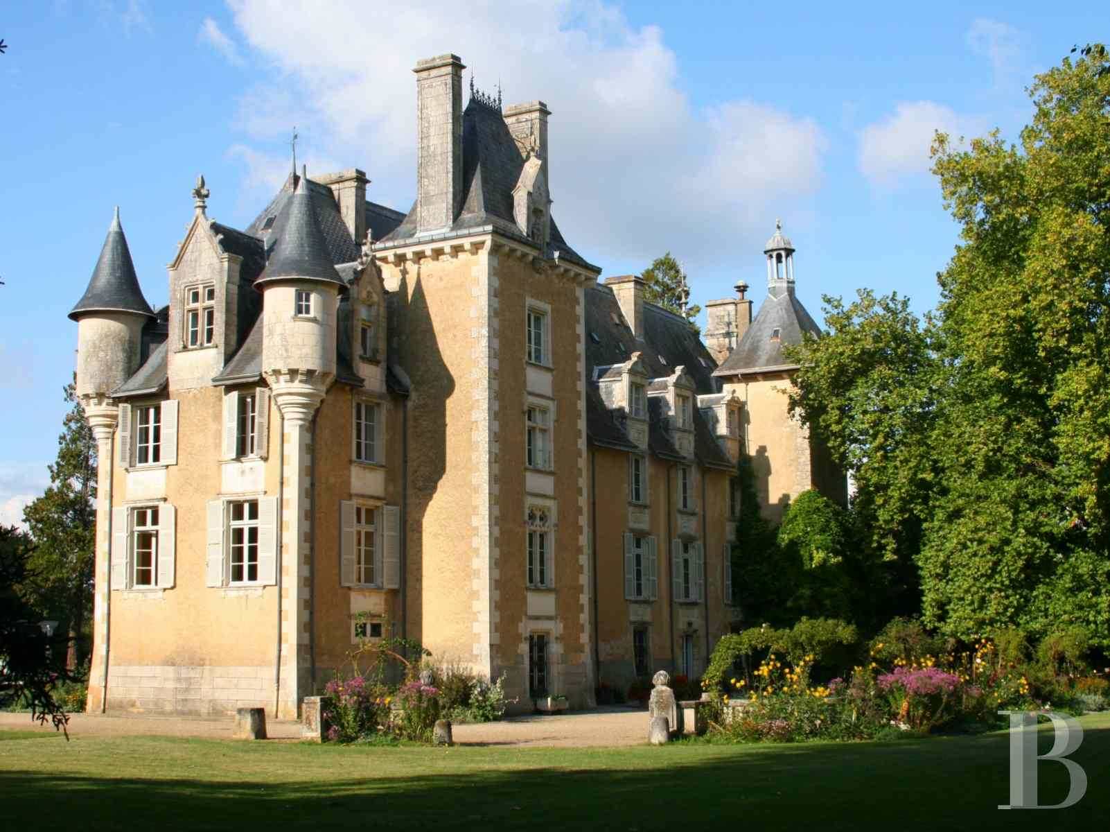 chateaux for sale France poitou charentes poitiers medieval - 1 zoom