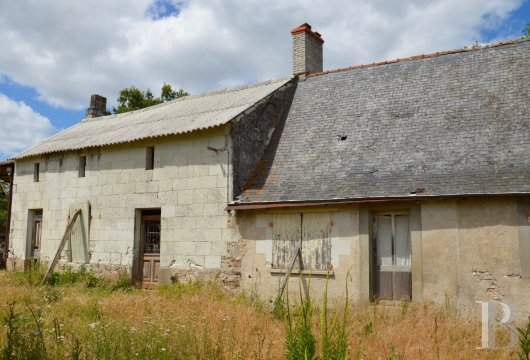 ruins for sale France pays de loire saumur farmstead - 2