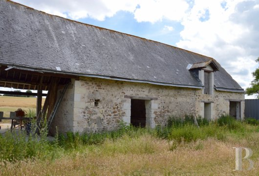 ruins for sale France pays de loire saumur farmstead - 3