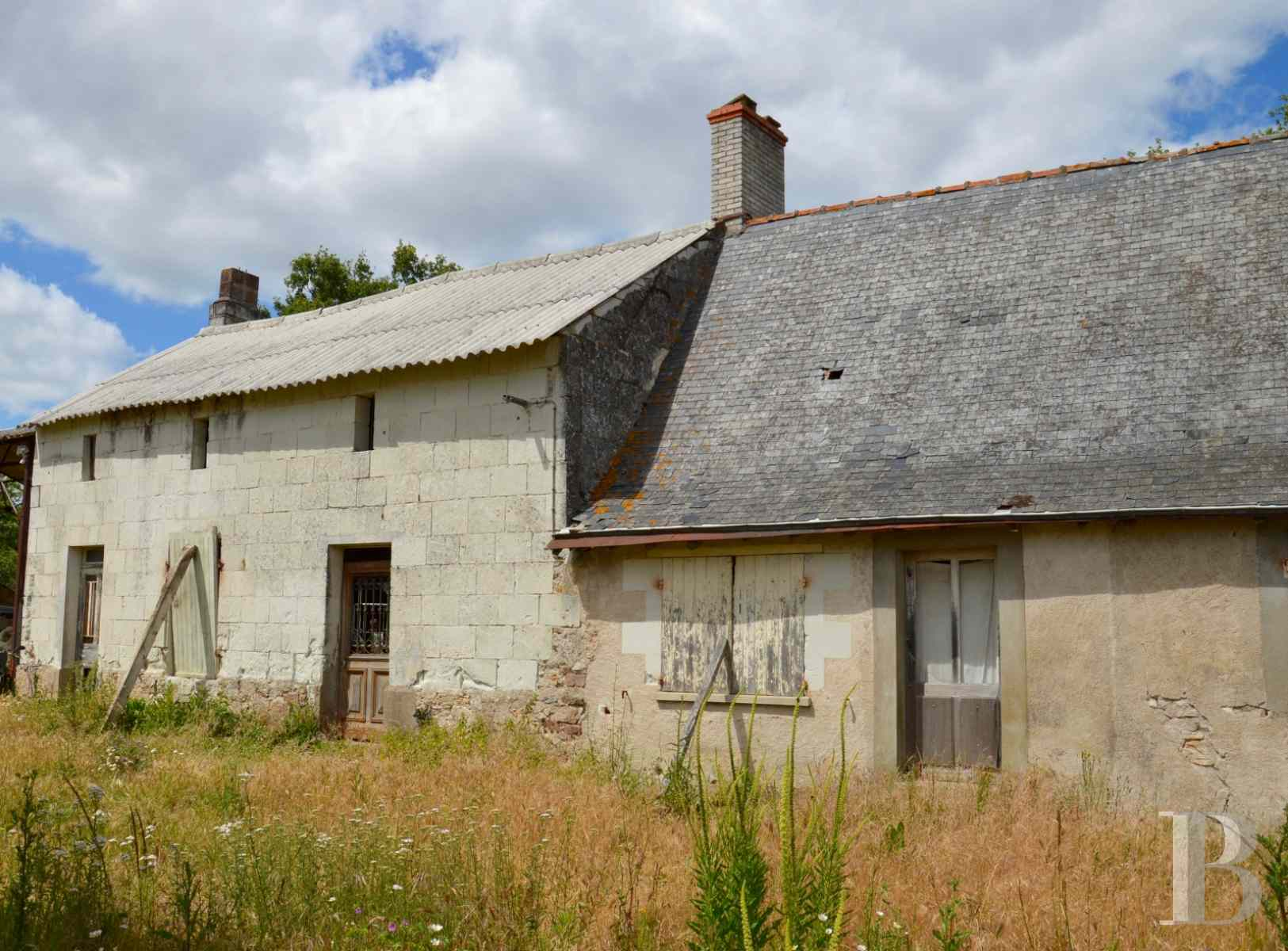 ruins for sale France pays de loire saumur farmstead - 2 zoom