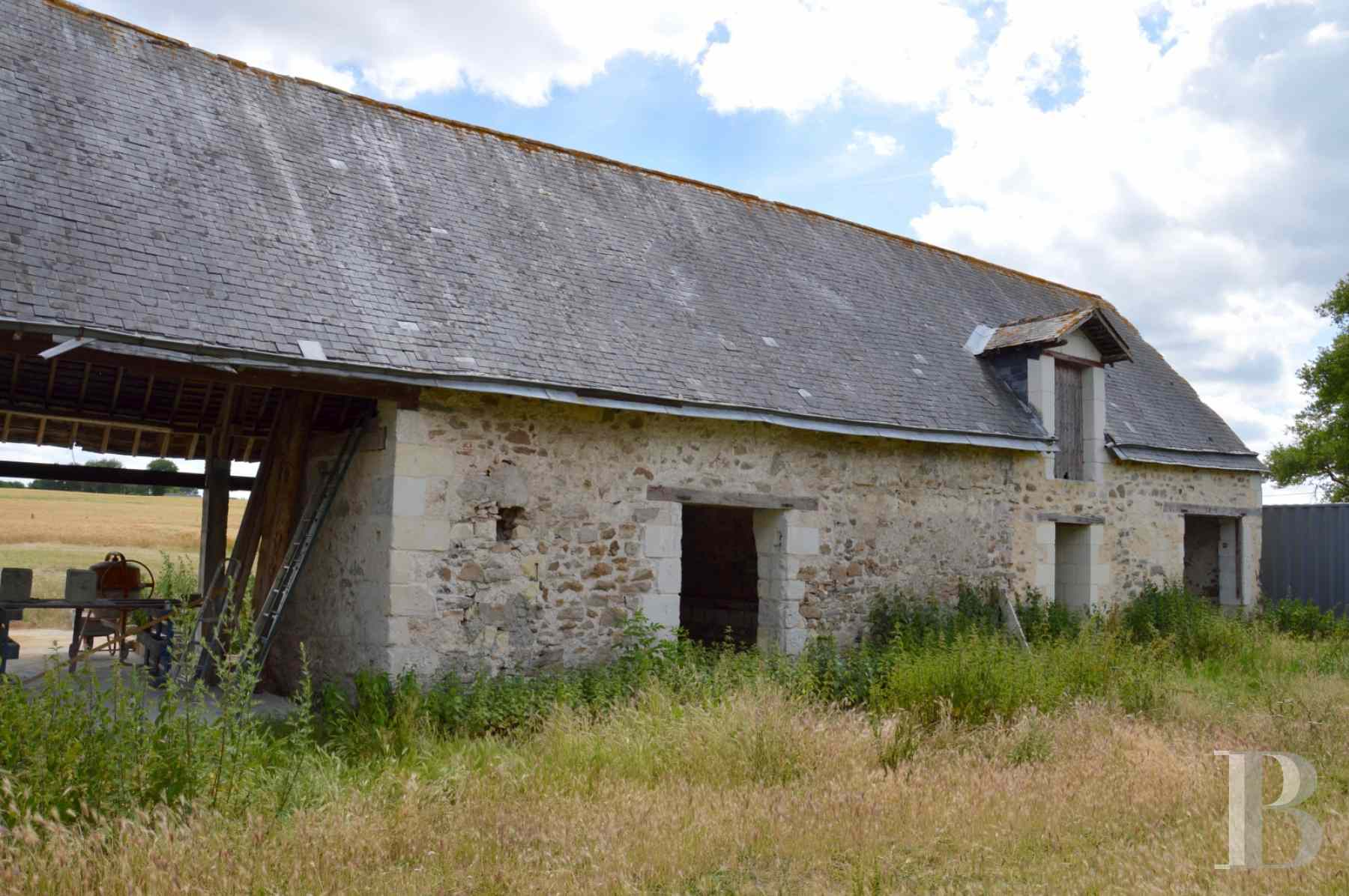 ruins for sale France pays de loire saumur farmstead - 3 zoom