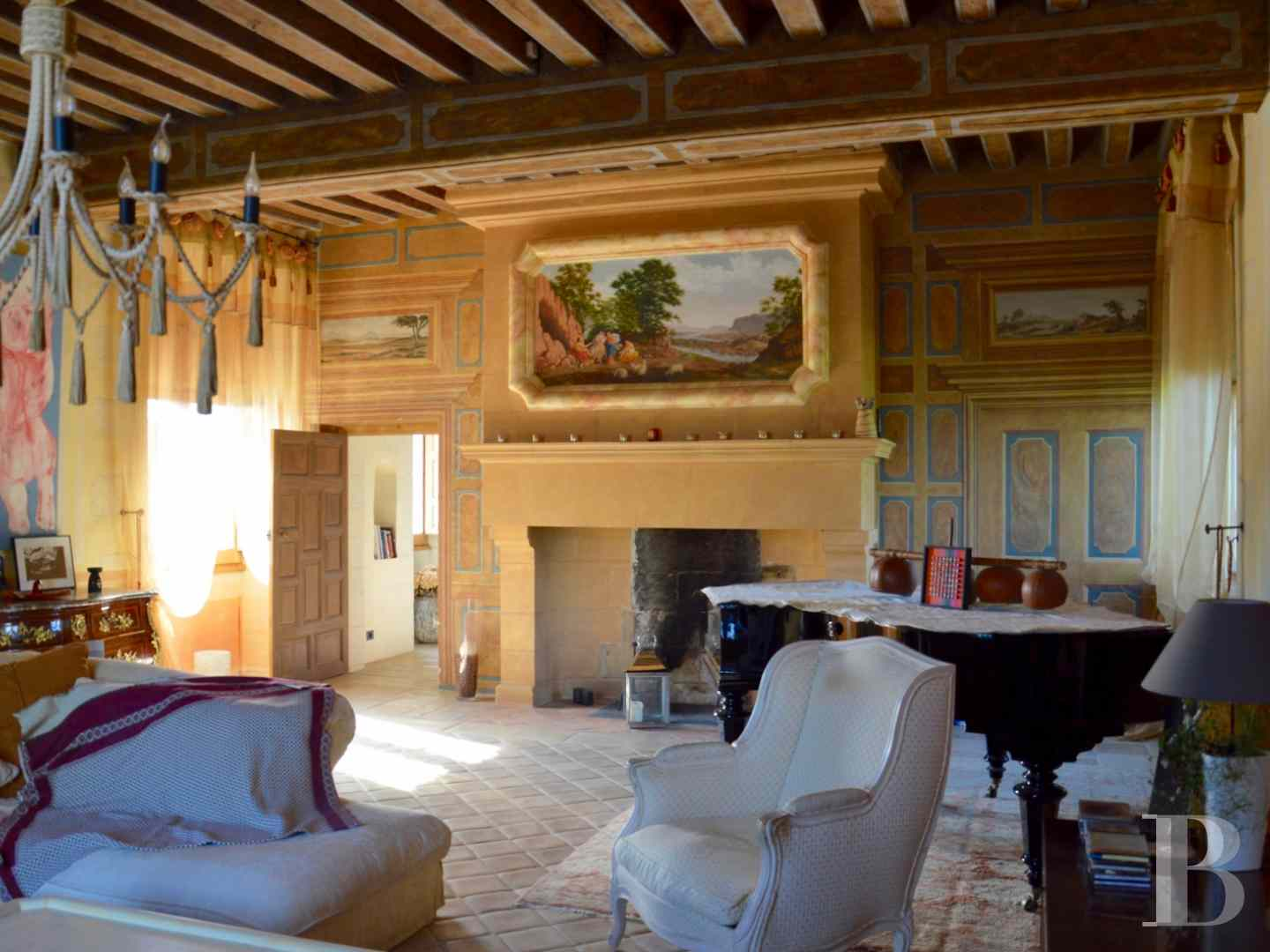 France mansions for sale pays de loire manors historic - 6 zoom
