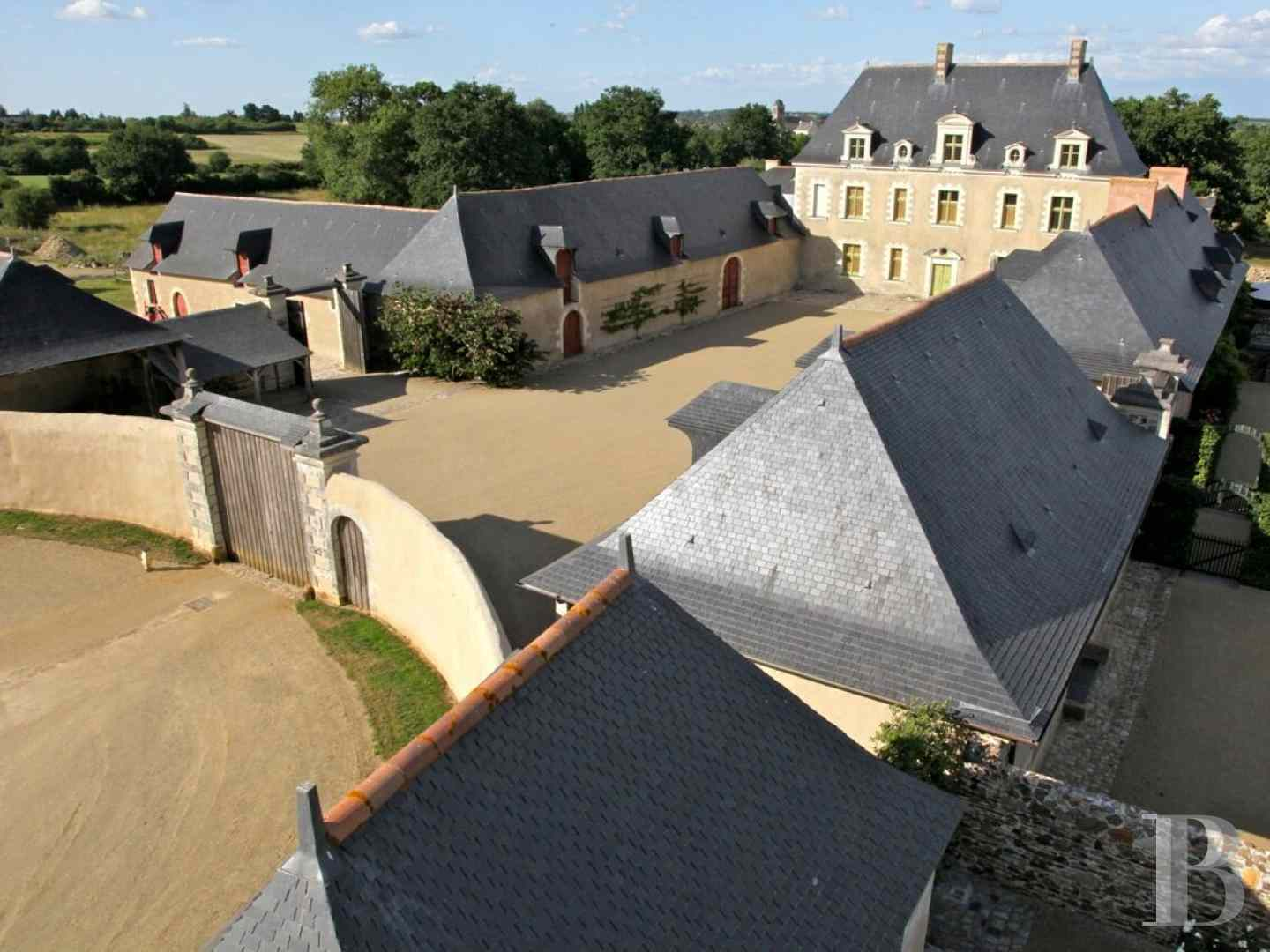 France mansions for sale pays de loire manors historic - 4 zoom