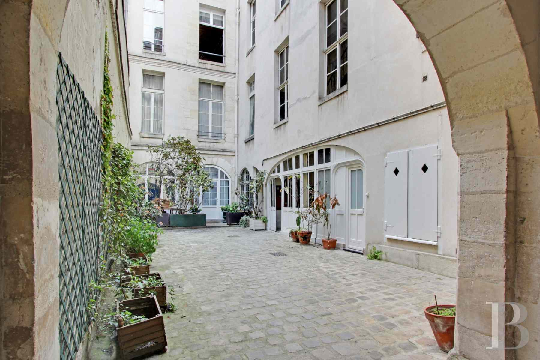 appartments for sale paris ile saint - 8 zoom